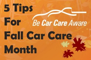 Fall Car Care Tips, St Augustine FL